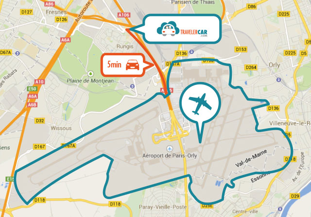 Parking a roport orly sud et orly ouest travelercar for Hotels orly sud