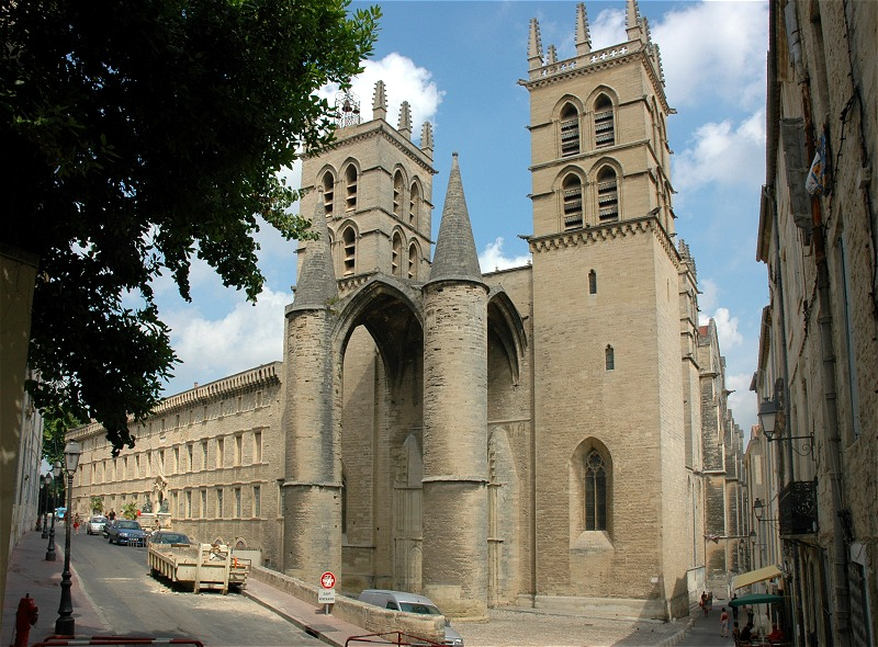 Parking gratuit montpellier travelercar - Cathedrale saint pierre de montpellier ...